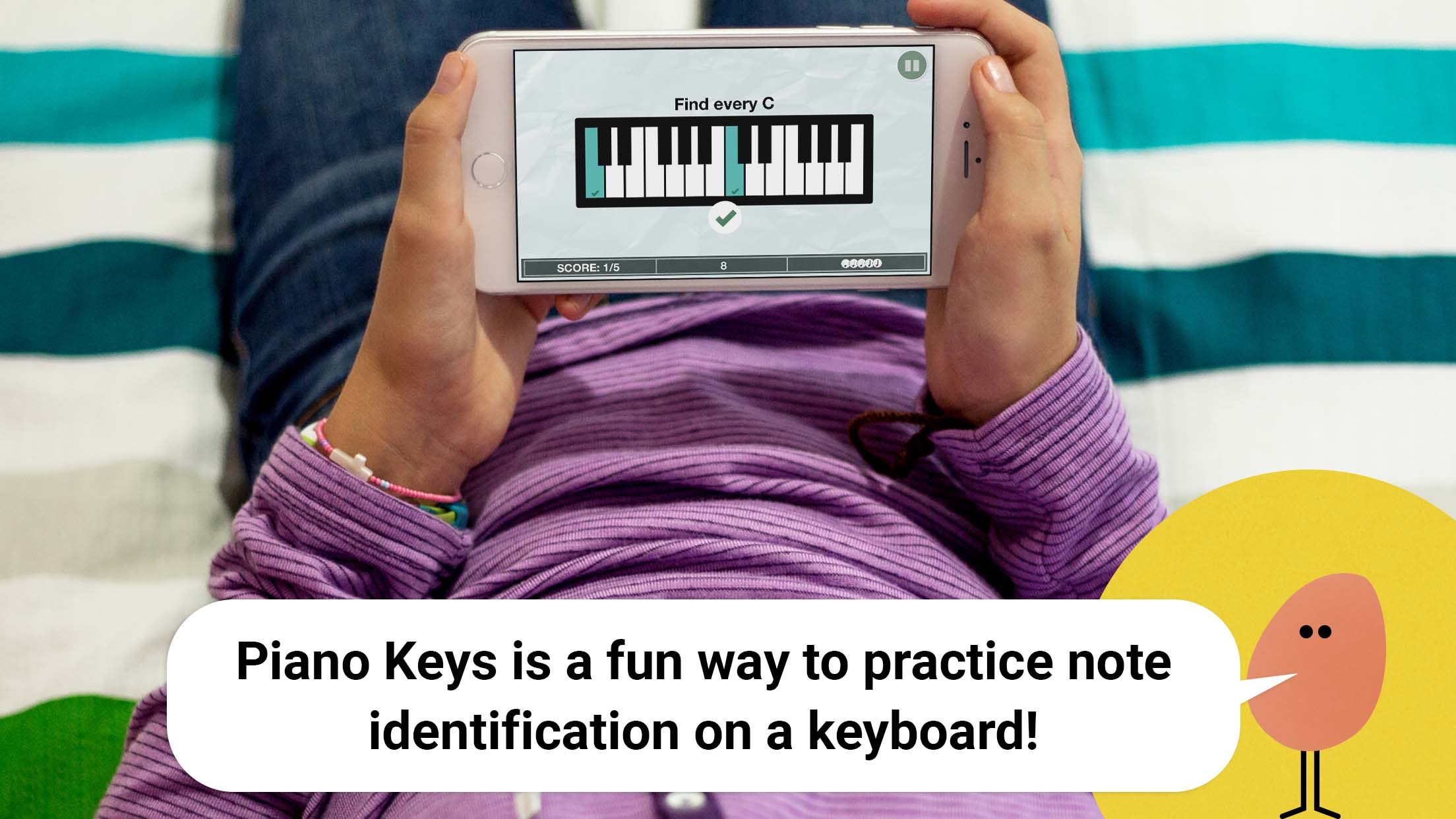 Piano Keys Music Game for iOS - Music Theory | Tonic Tutor Apps